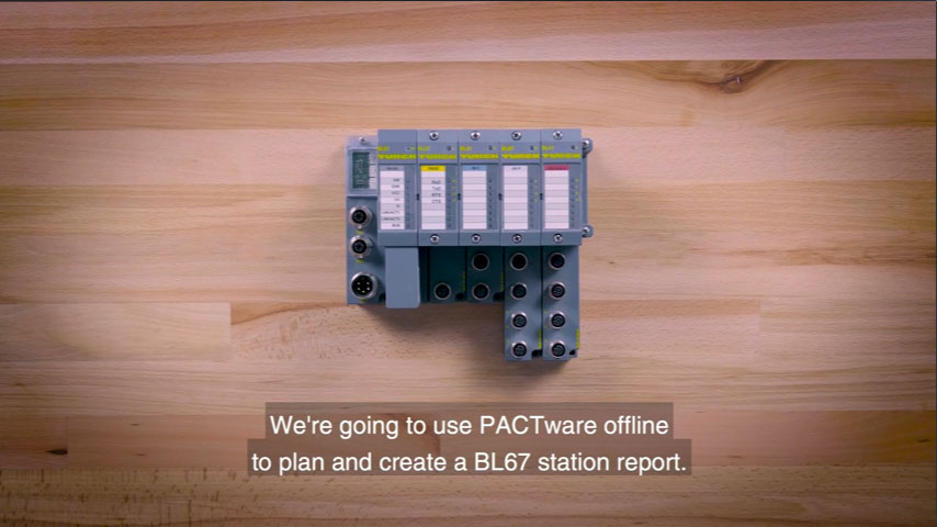 Pactware: How to plan and create BL67 station reports using Pactware