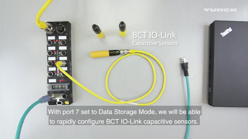 IO-Link: How to replace sensors using IO-Link data storage mode