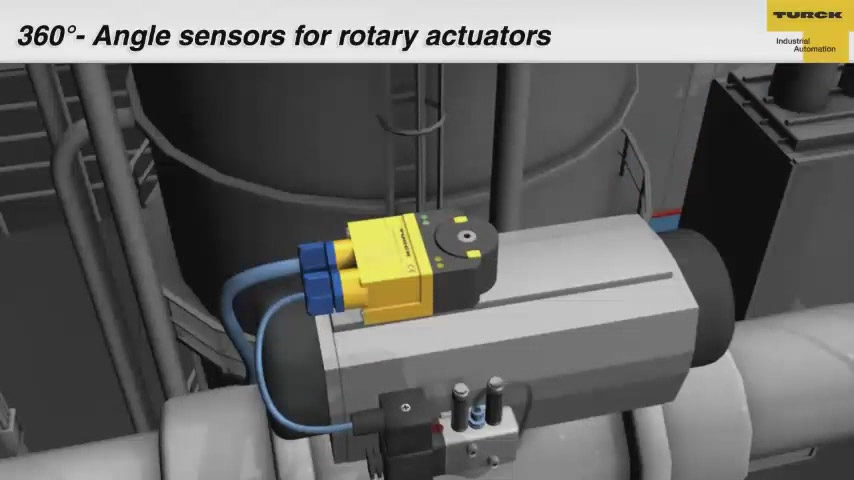 360° - Angle Sensor for Rotary Actuators