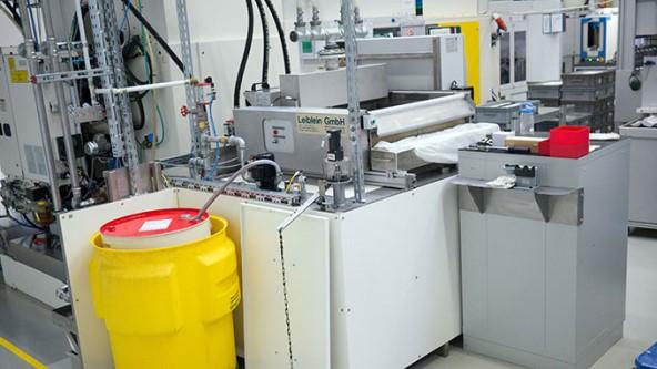 Kühlschmierstoffüberwachung mit TX513 HMI - TURCK – Your Global