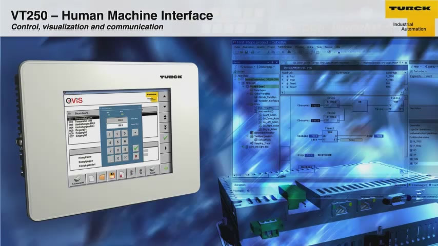 VT250 - Human Machine Interface