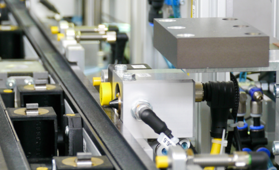 "Under ""RFID Solutions"", you can see how Turck implements holistic identification processes."