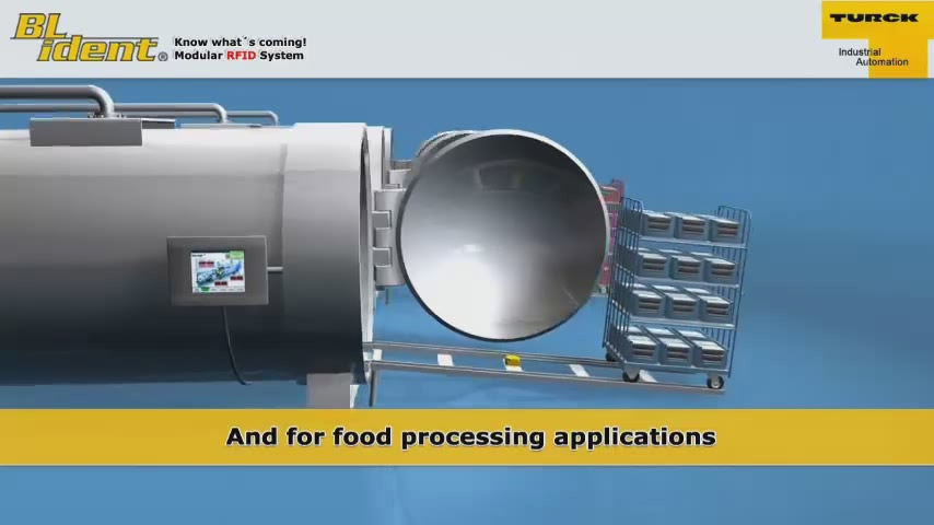 RFID system for autoclaves